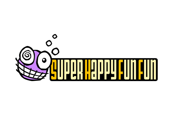 super happy fun fun logo